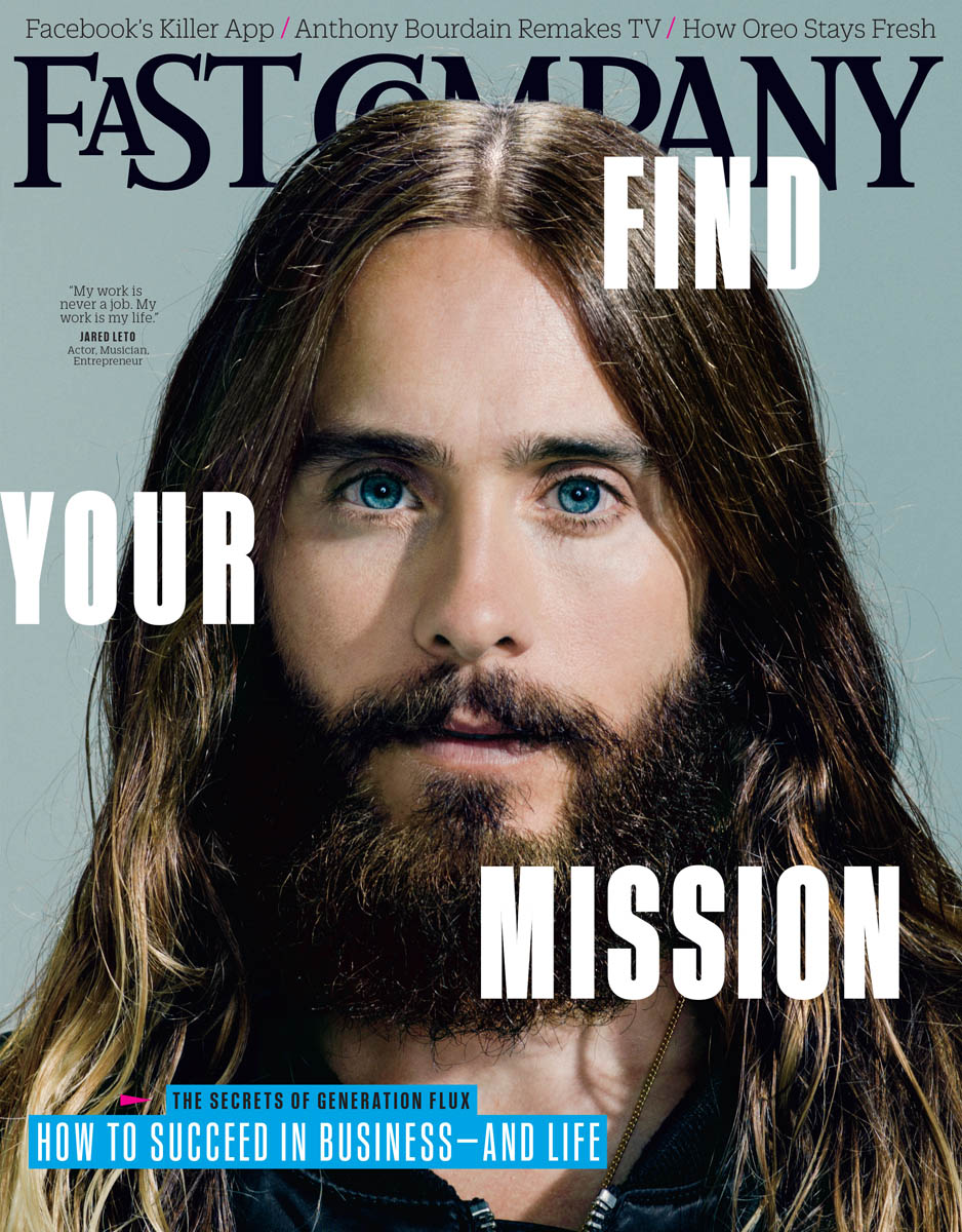 Jared Leto for Fast Company