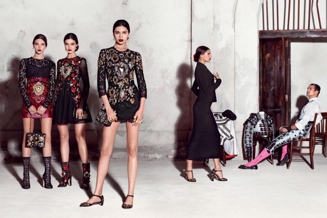 Dolce and Gabana Spring 2015 for Love and PR