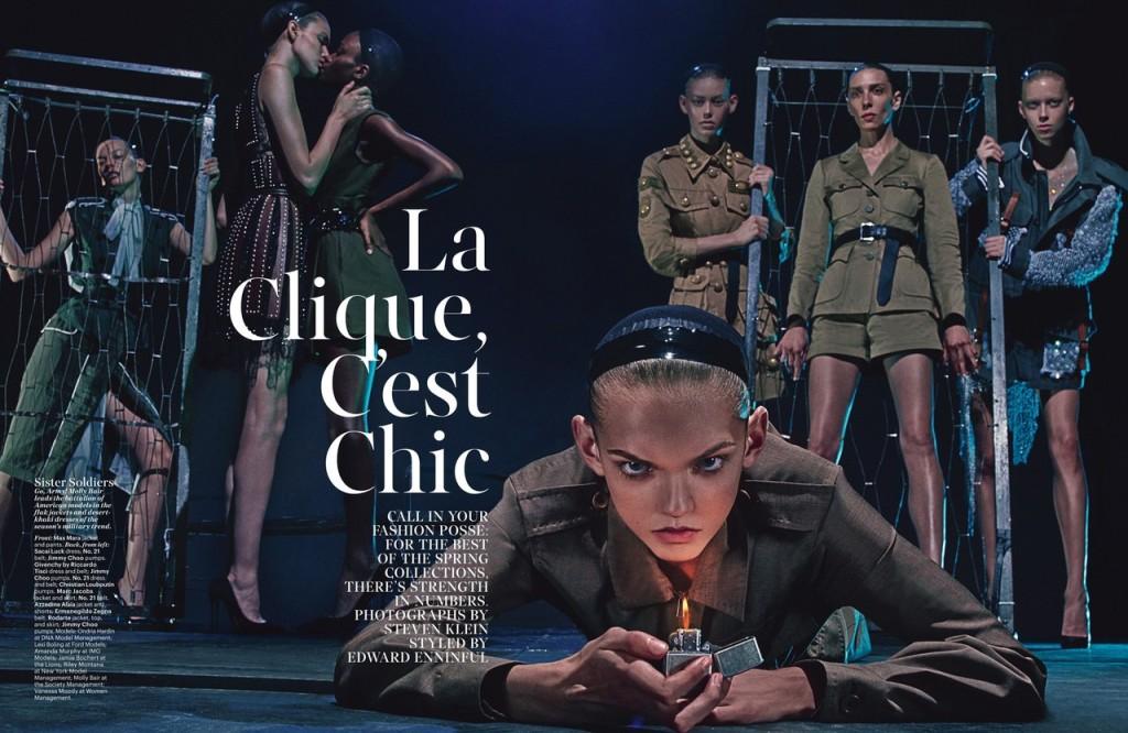 La Clique Cest Chic: W Magazine February 2015