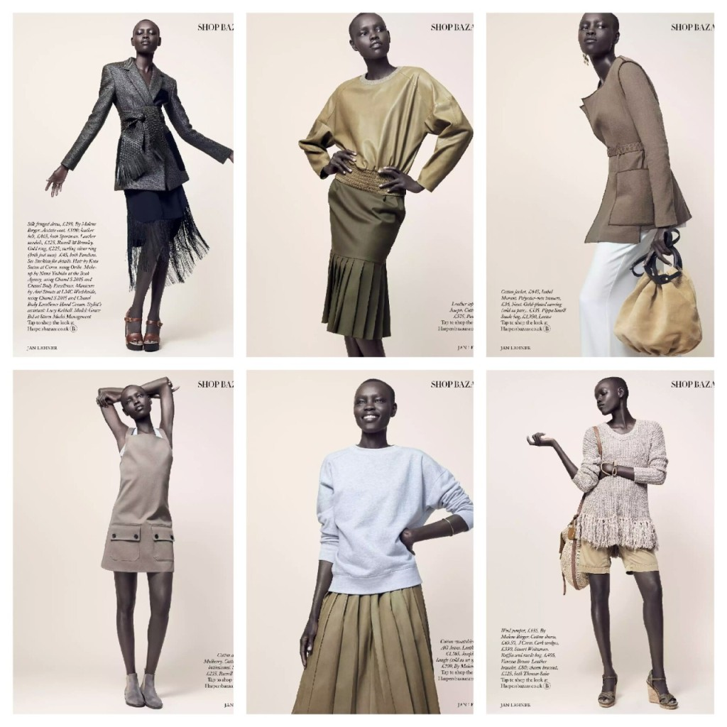 Harper's Bazaar UK 'Spring Clean' March 2015: Grace Bol  Photography by Jan Lehner  Styling by Sara Gilmour