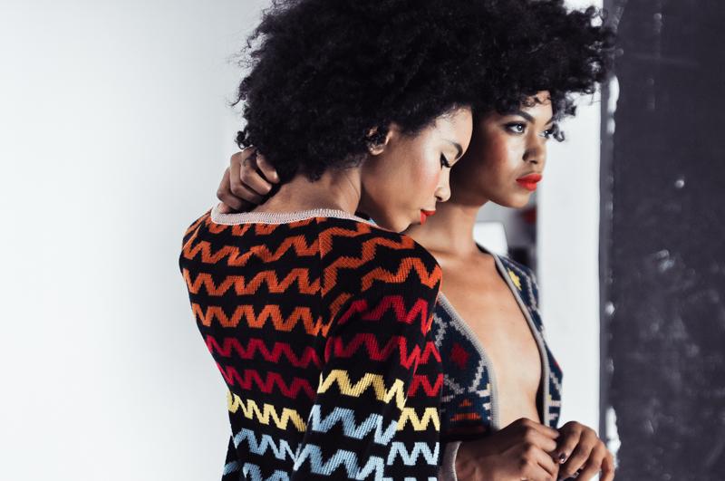 Suzane and Suzana Massena for Elle Magazine, South Africa  Photographer: Kristen-Lee Moolman