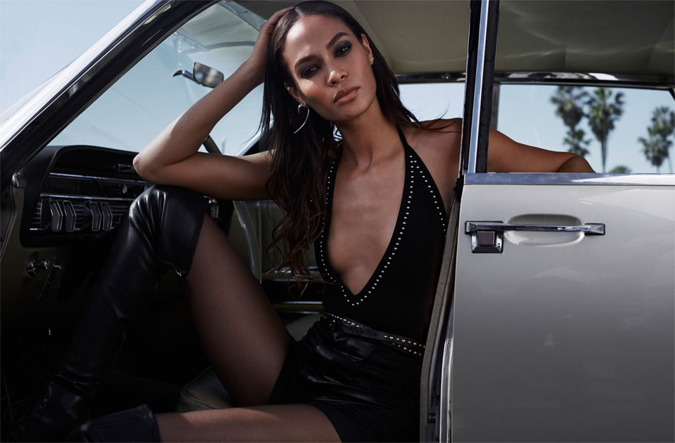 Joan Smalls for The Edit by Net-A-Porte