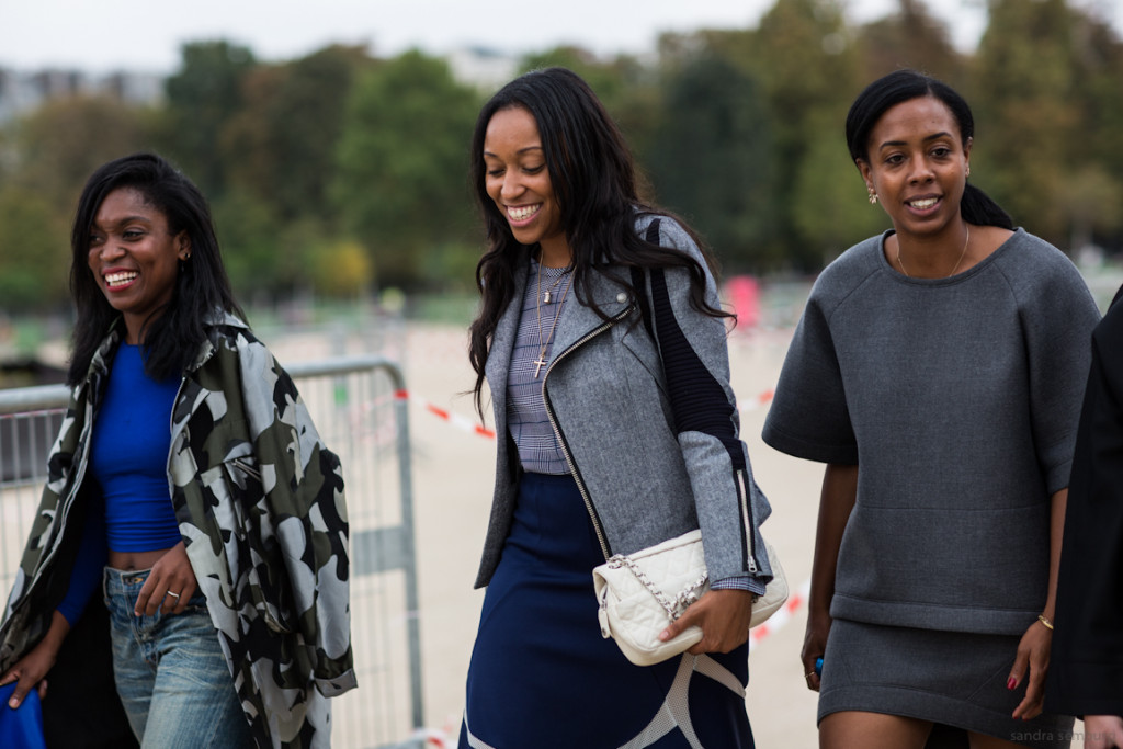 Paris Fashionweek day 6, outside Elie Saab, shiona turini, teen vogue