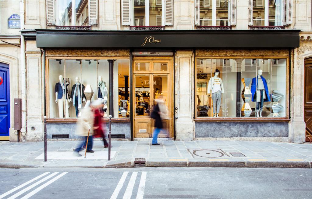 J.CREW IS FINALLY OPENING IN PARIS