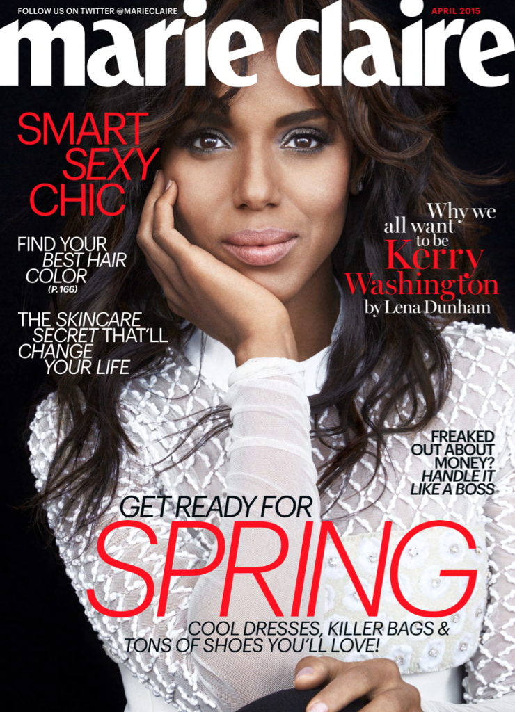 kerry for April Marie Claire