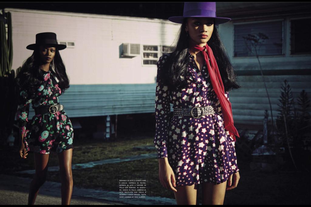 """""""The Last Chic"""" - Vogue Italia March 2015"""