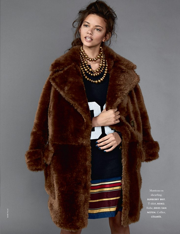 CHIC ET COOL IS ONE WAY TO DESCRIBE MARINA NERY'S ELLE FRANCE STORY7