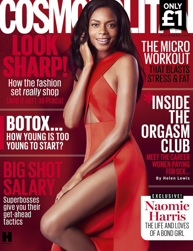 Naomi Harris for Cosmo