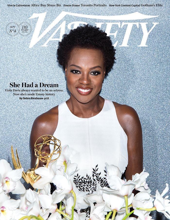 Viola Davis for Variety Magazine