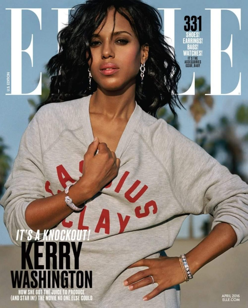 Kerry for American Elle
