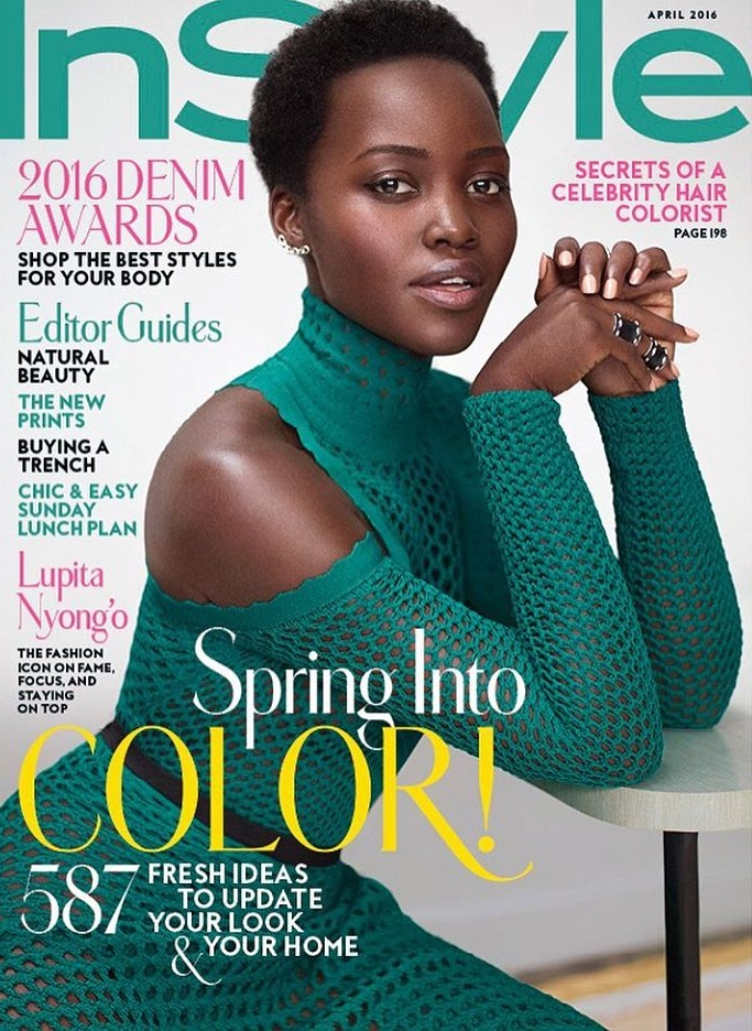 Lupita N'Yongo for Instyle Mag April 2016