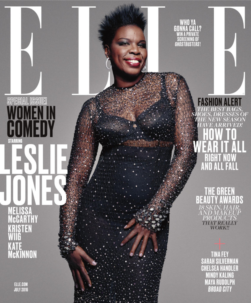 Leslie Jones for Elle Mag