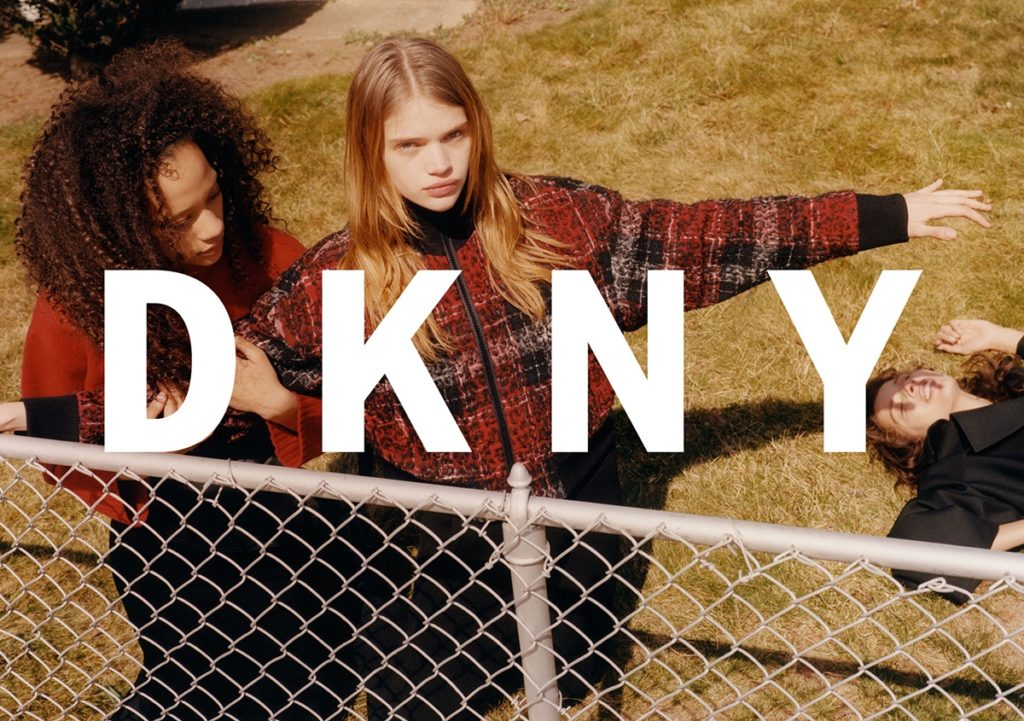 56 Stella Lucia, Alice Metza, & Selena Forrest for DKNY FW 16.17 Campaign