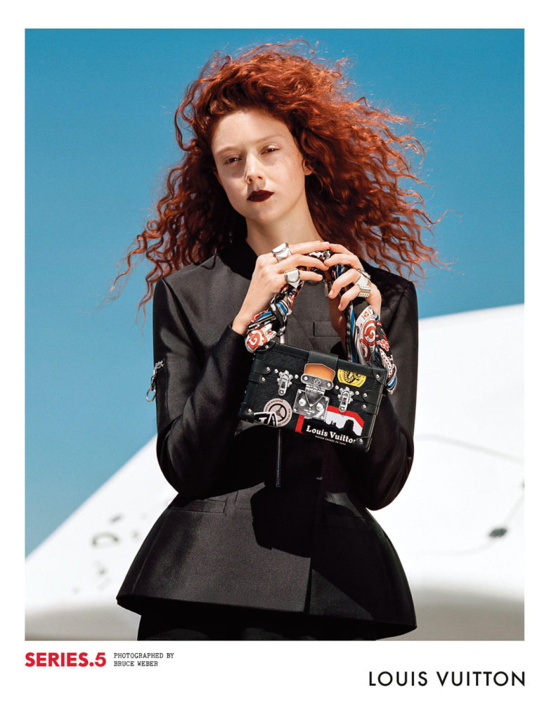 natalie Westling for Louis Vuitton Fall/ Winter 2016