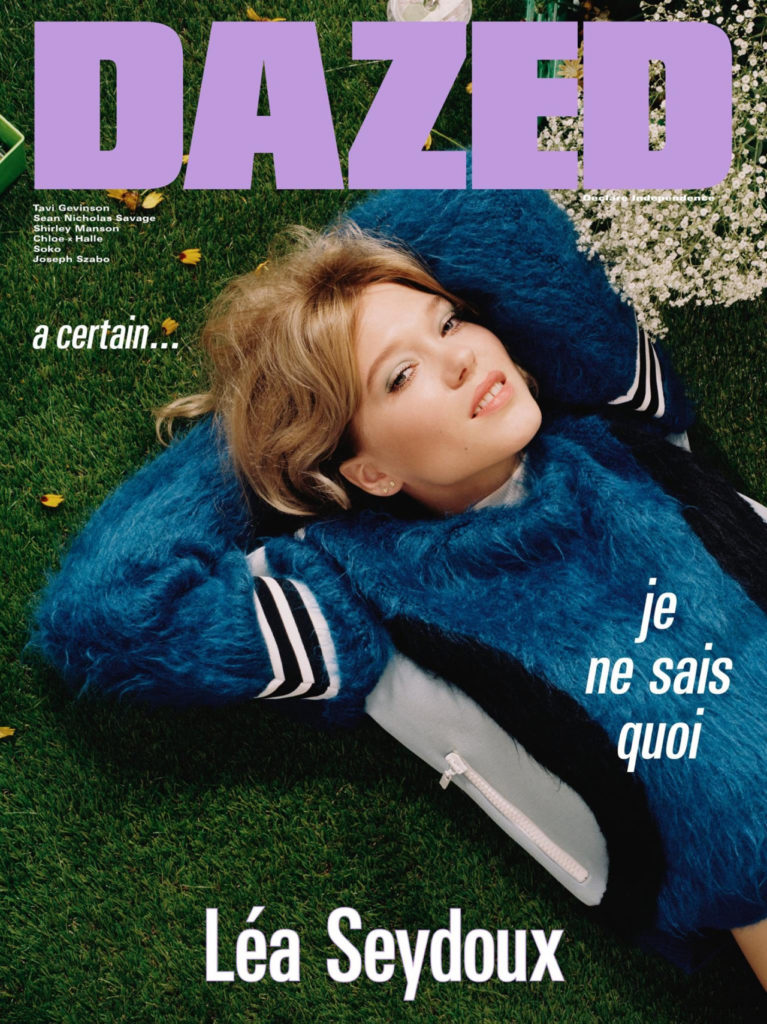 6 Léa Seydoux, photographed by Mark Peckmezian for Dazed, Autumn 2016.