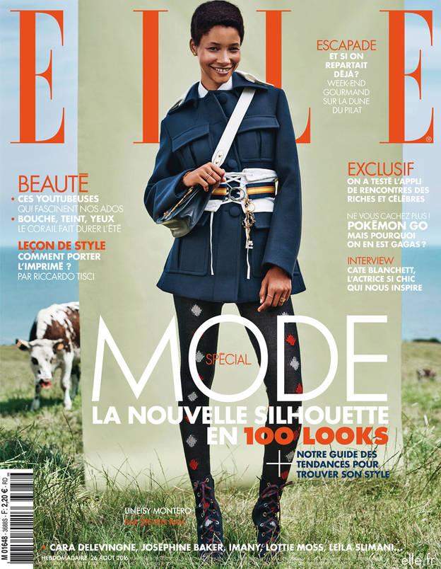 Fashion PR- Lineisy Montero for Elle France August 2016