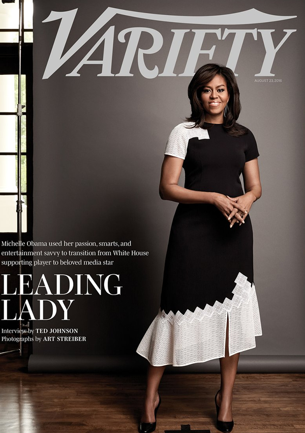 First Lady Michelle Obama for Variety August6 2016