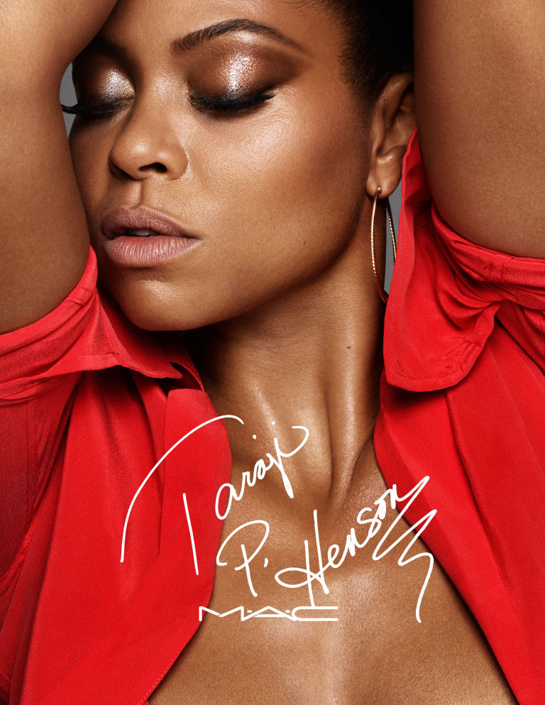Taraji for her MAC Fall 2016 Makeup Collection
