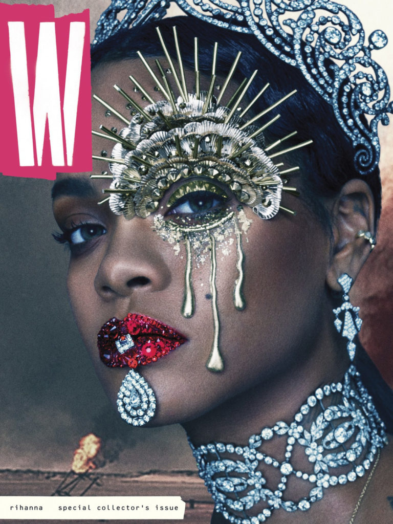 W Mag- Rihanna Special Collector's Edition